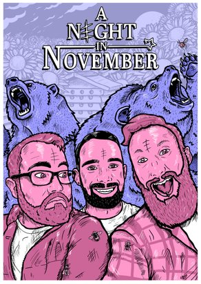 A Night in November - Band poster