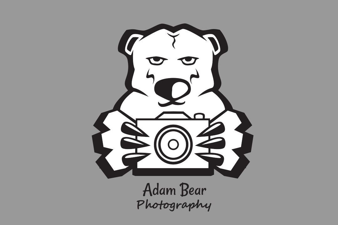 Adam Bear Photography logo design
