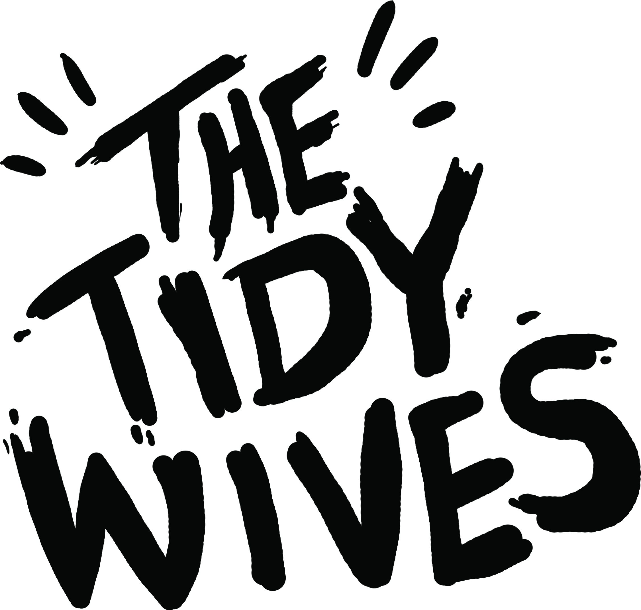 The Tidy Wives Logo design